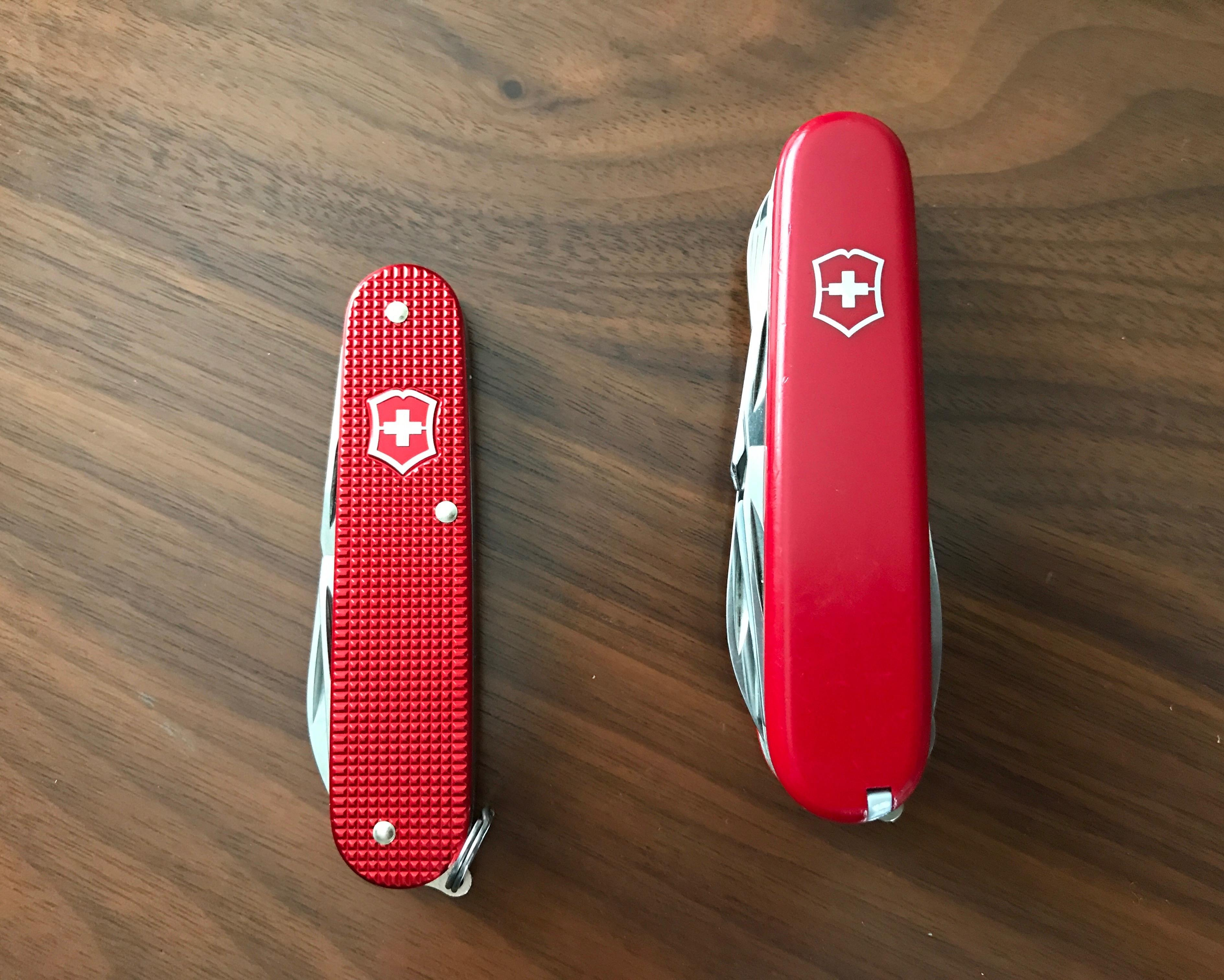 Swiss Army Knife Cadet The Brooks Review