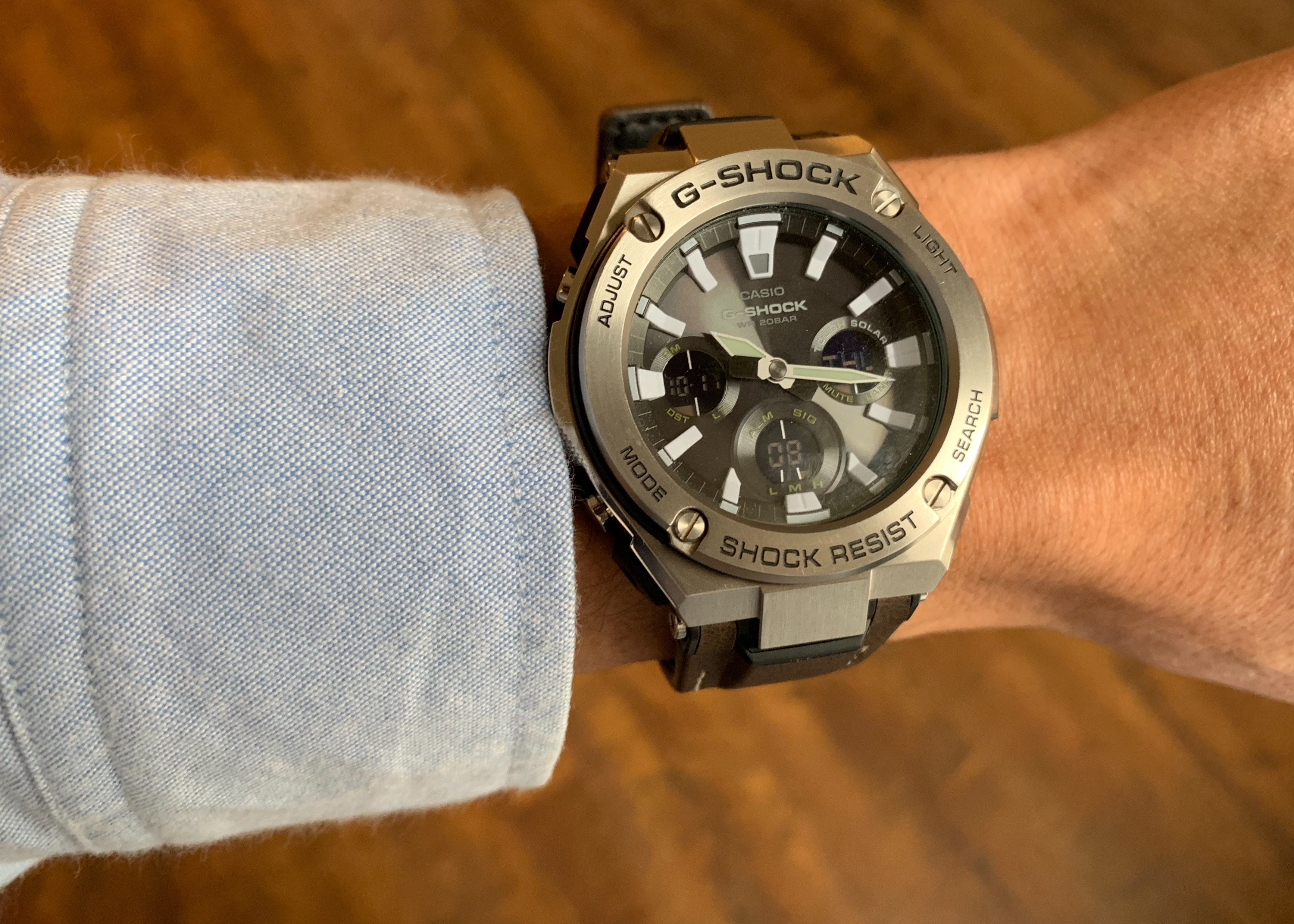 Casio G Shock G Steel Gst S130c The Brooks Review