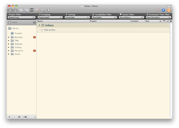 Solarized Light for OmniFocus